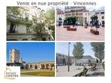 Vente en nue propriété - Vincennes
