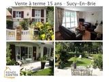 Vente à terme occupée - Sucy-en-Brie